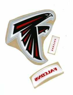 Falcons Football Helmet Decals Free Shipping 03-19
