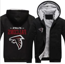 Hot New Thicken Hoodie Team Atlanta Falcons Warm Sweatshirt