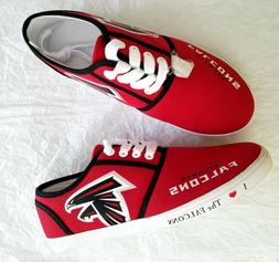 I Love The Falcons NFL-Licensed Atlanta Falcons Women's Canv