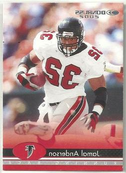 Jamal Anderson 2002 Donruss Atlanta Falcons PROMO / SAMPLE F