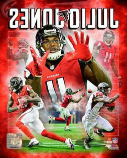 Julio Jones Atlanta Falcons NFL licensed unsigned 8x10 Photo