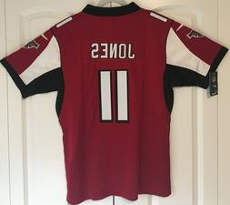 Julio Jones Atlanta Falcons Men's Red Stitched Jersey Size