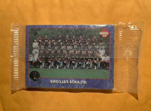 1993 collector s edge nfl atlanta falcons