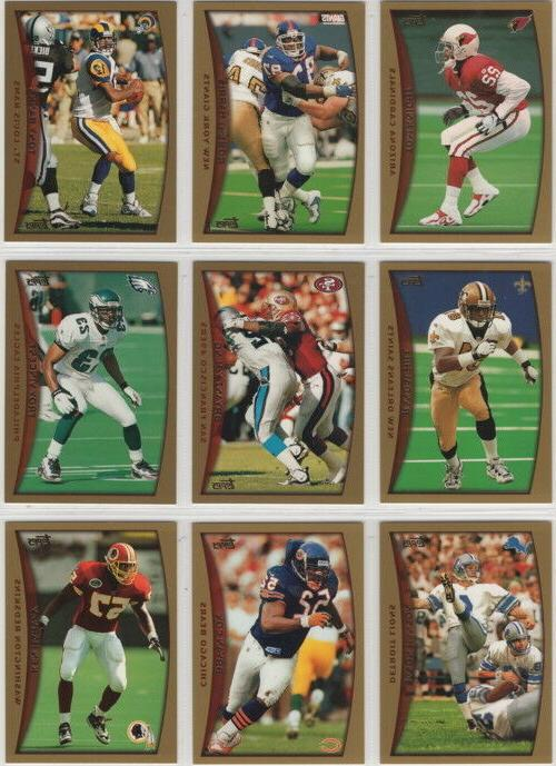 1998 topps football team sets pick your