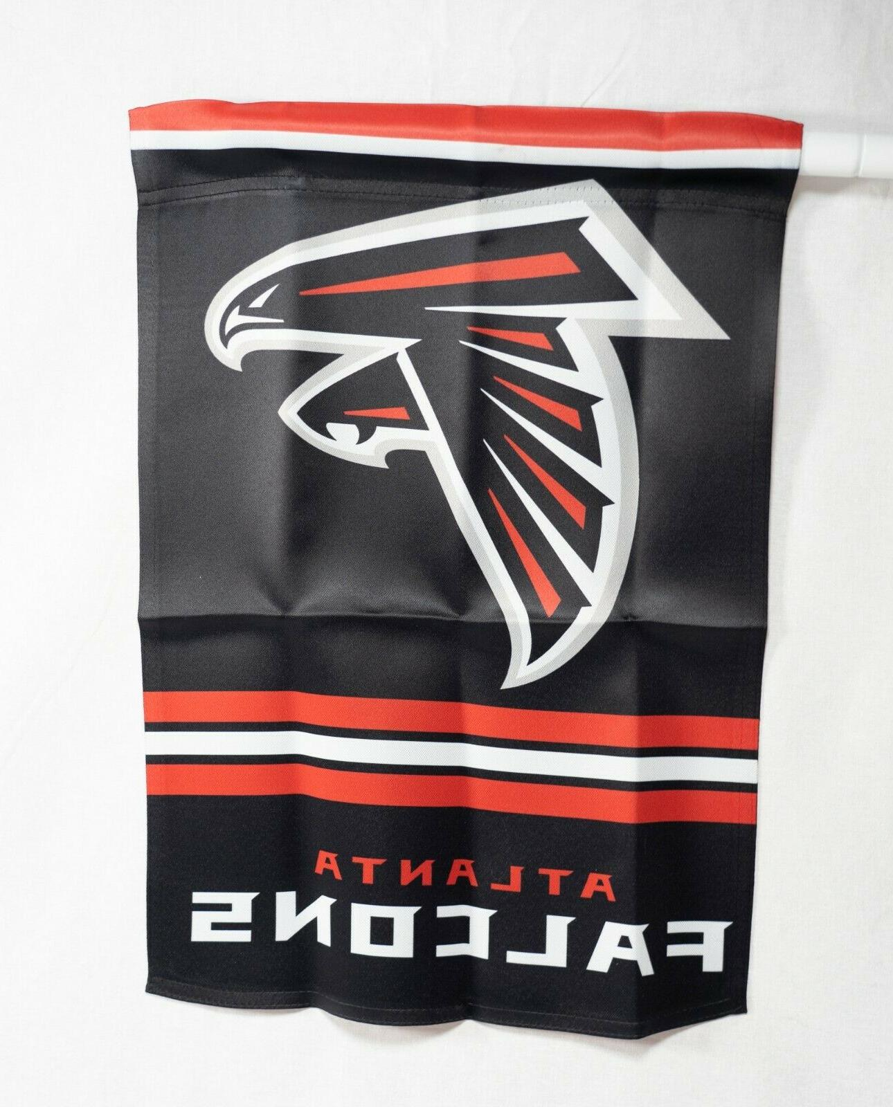"Atlanta Falcons sided Flag 12""x18"" NFL Flag Brand NEW"