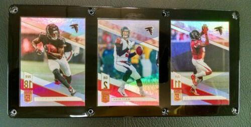 atlanta falcons 3 card plaque julio jones