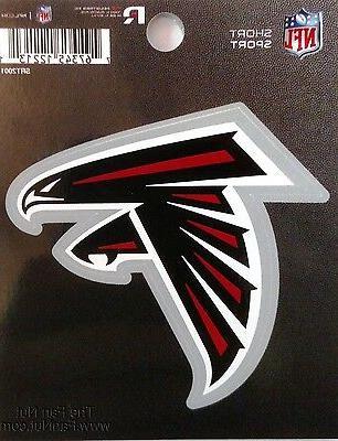 atlanta falcons 3 flat vinyl sport die