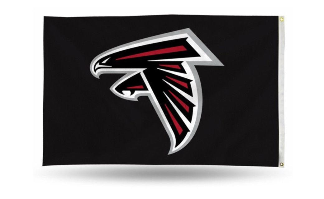 atlanta falcons 3 x5 flag nfl logo