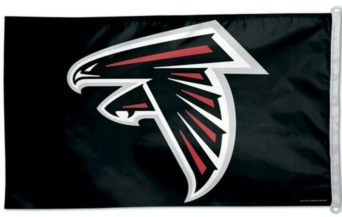 atlanta falcons 3x5 banner flag nfl football