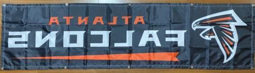 Atlanta Falcons Banner Ships Free And From