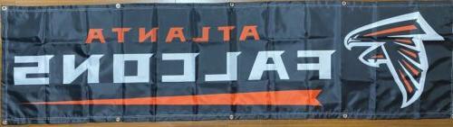 atlanta falcons banner 2 x8 ships free