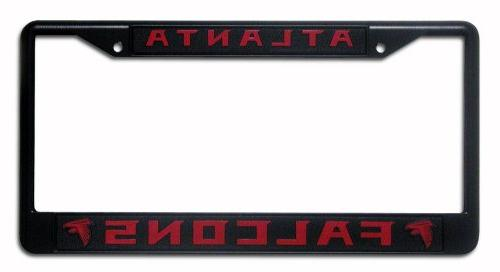 atlanta falcons black chrome frame