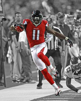 atlanta falcons julio jones glossy 8x10 photo