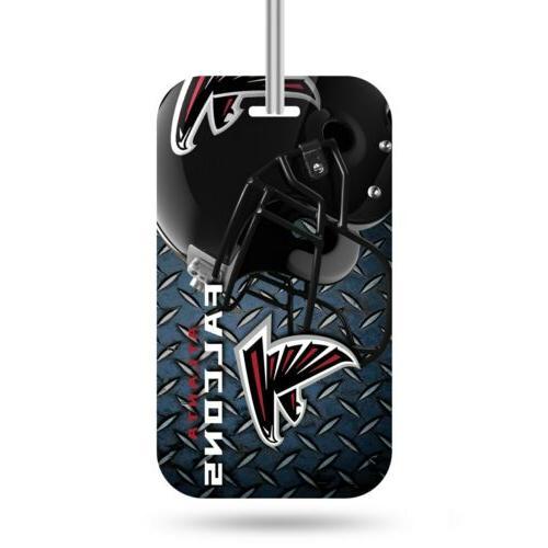 atlanta falcons luggage tag