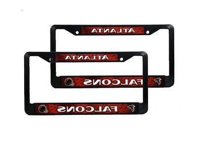 atlanta falcons nfl black plastic 2 auto