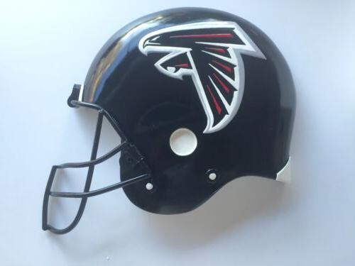atlanta falcons nfl helmet plaque for wall