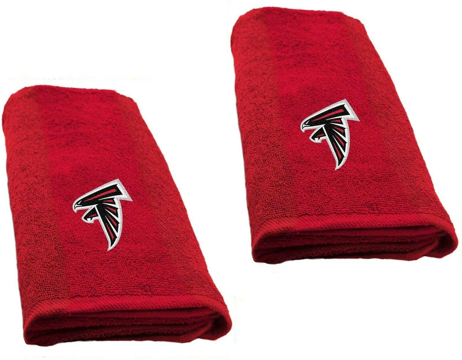 """Atlanta Falcons set of 2 Decorative  26"""" x 15"""" Hand Towels"""