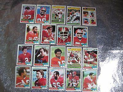 atlanta falcons team sets 1981 1982 1984