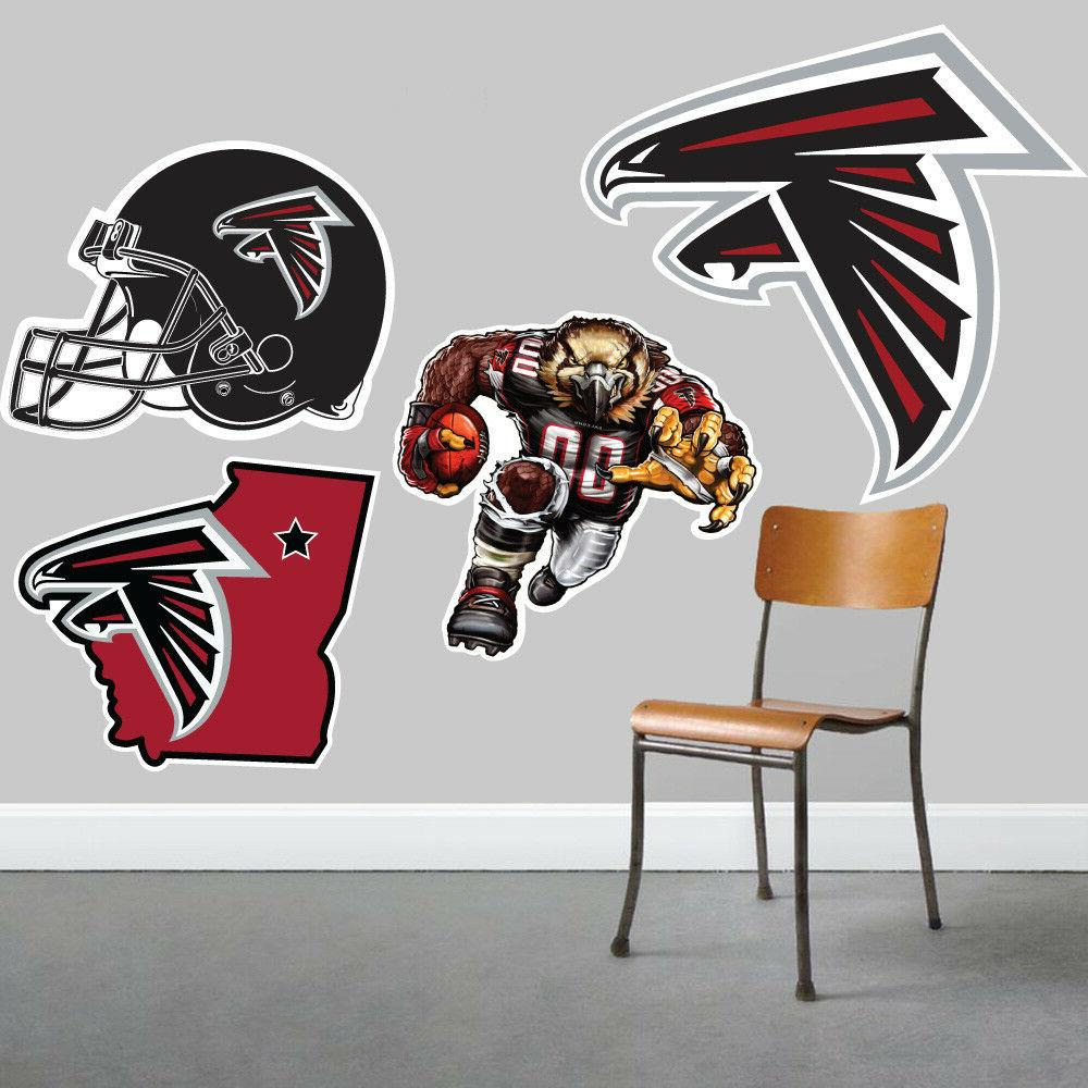atlanta falcons wall art 4 piece set