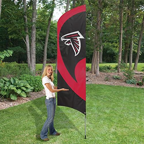 Party Falcons NFL Flag Tailgating