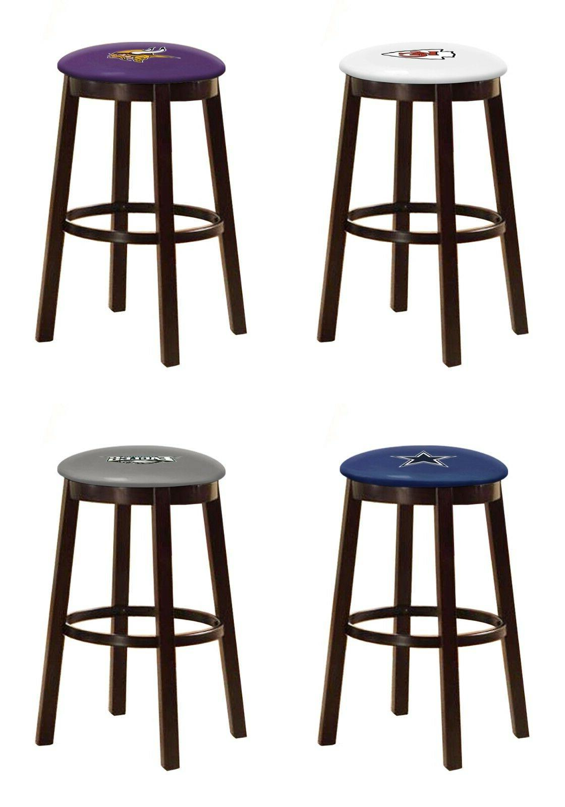 bar stool nfl sport team logo decal