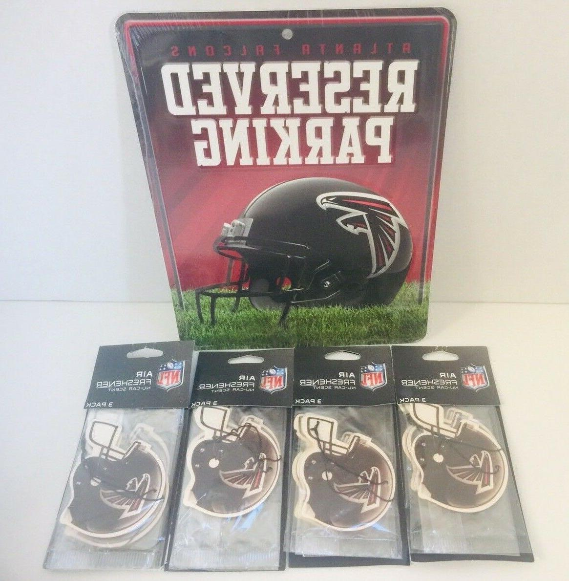 gift pack atlanta falcons reserved parking metal