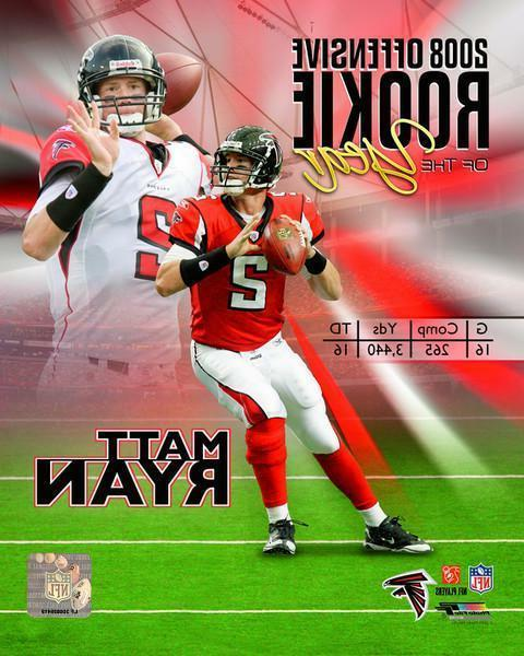 matt ryan atlanta falcons licensed unsigned 8x10