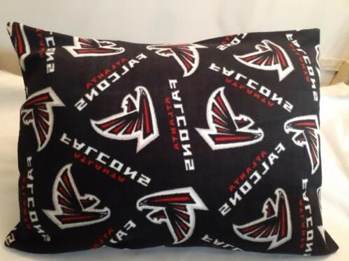 NEW FLEECE FOOTBALL. pillow case.