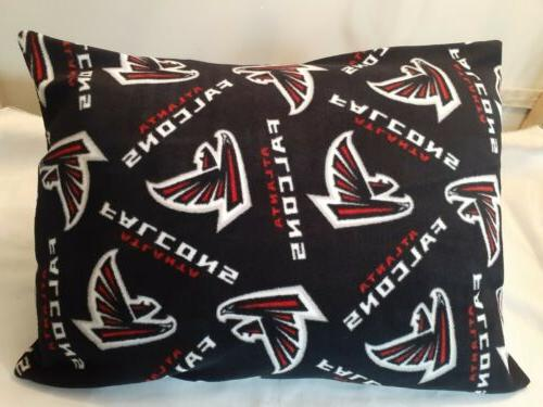 NEW FALCONS PILLOW RED NFL FOOTBALL.