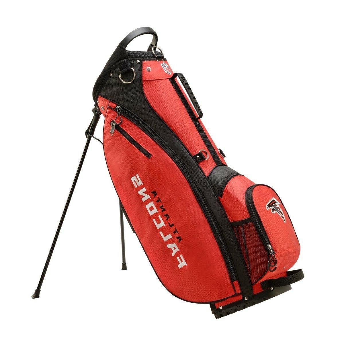new nfl carry golf bag atlanta falcons