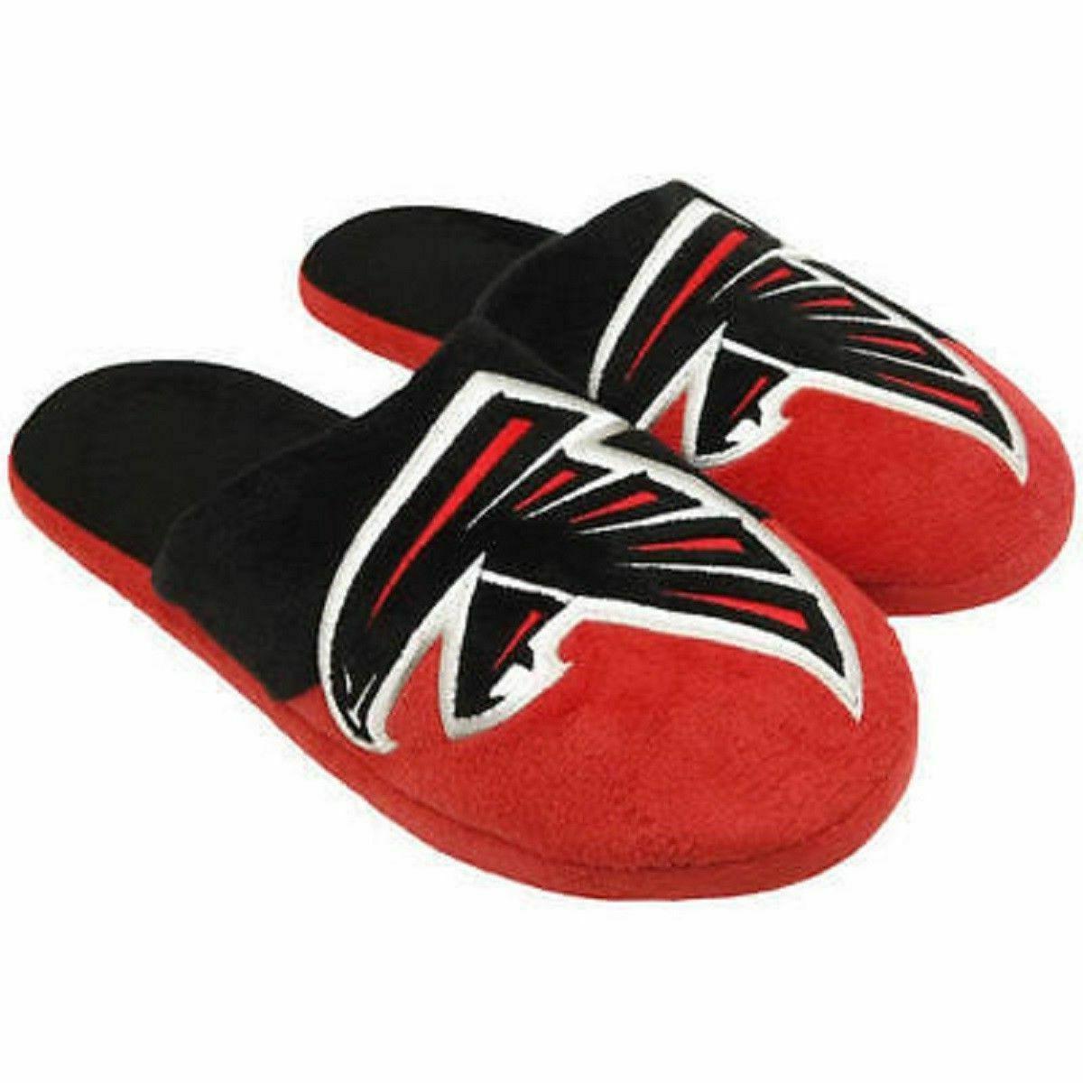 NFL Atlanta Falcons Color Block Slippers