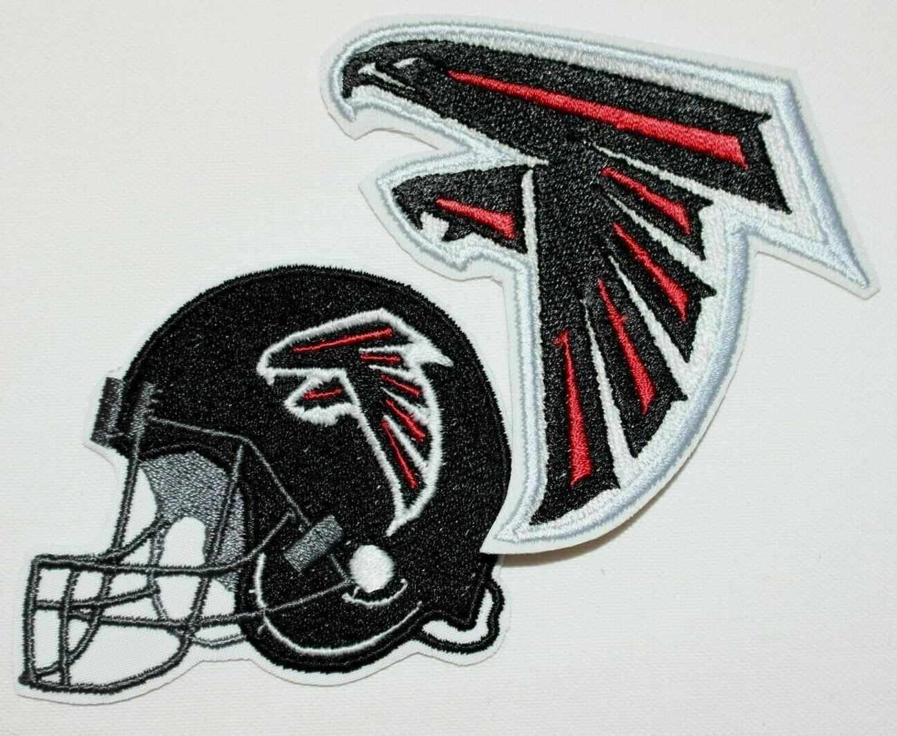nfl atlanta falcons embroidered iron on patch