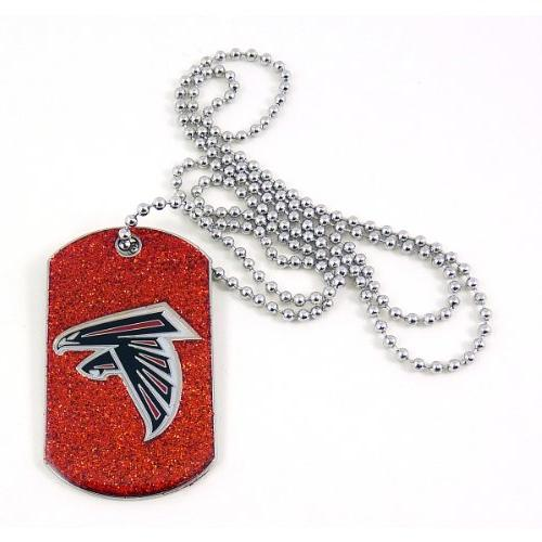 NFL Atlanta Falcons Glitter Dog Tag