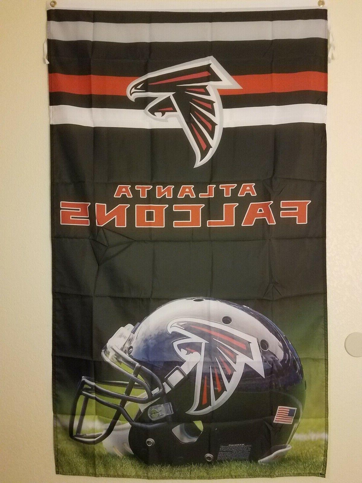 nfl atlanta falcons official flag banner 3