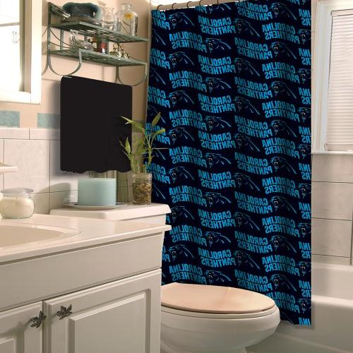 NFL Carolina Panthers Shower Curtain