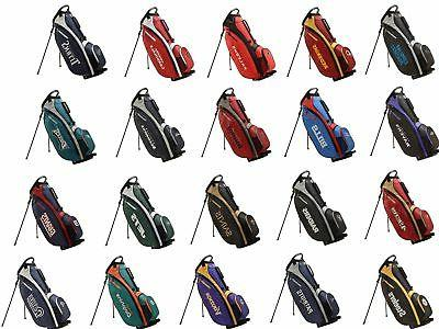 staff golf nfl football carry stand bag