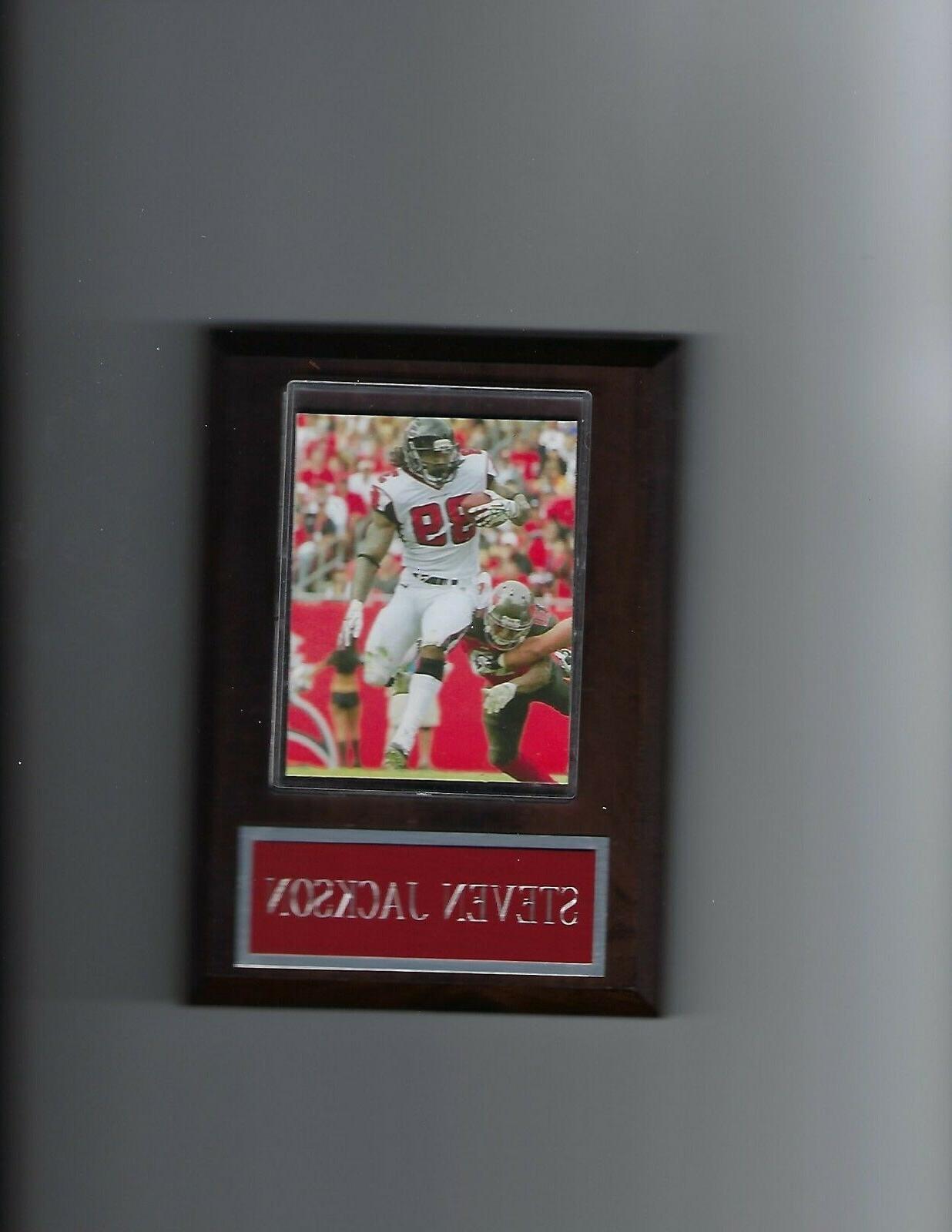 steven jackson plaque atlanta falcons football nfl
