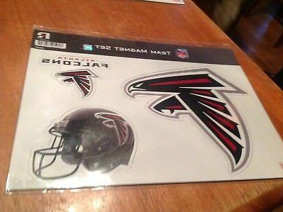 team magnet set 3 peice atlanta falcons