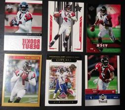 Lot Of 6 2005 Michael Vick Cards. All in Plastic Sleeves. To
