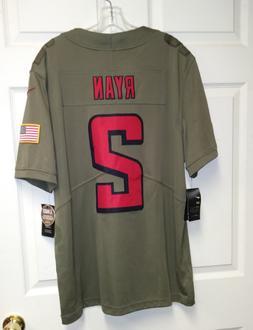Matt Ryan #2 Atlanta Falcons Green Salute To Service Limited