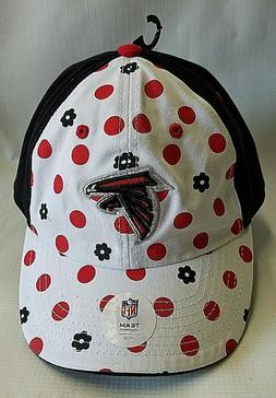 new atlanta falcons baseball hat polka dot