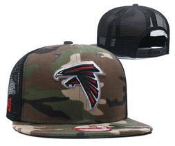 New Atlanta Falcons New Era 9FIFTY Camouflage Trucker Snap B