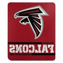 New Atlanta Falcons NFL Split Wide Fleece Throw Blanket Larg