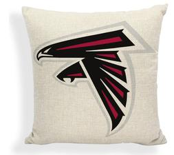 New Atlanta Falcons Pillow Case, Gift for Her Mom Him Dad, C