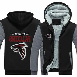 New Atlanta Falcons Thicken Hoodies Football Winter Coat War