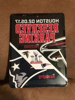 New England Patriots / Atlanta Falcons Super Bowl LI Reserve