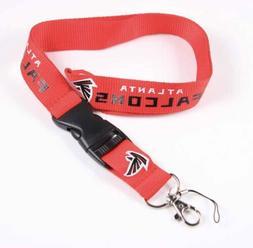 New Football Atlanta Falcons Lanyard ID Badge Holder Breakaw