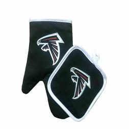 NEW Football Team Atlanta Falcons Oven Mitts & Pot Holder Se