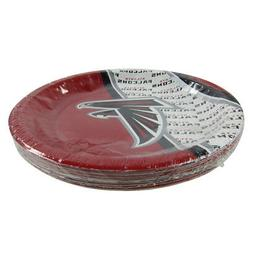 "New NFL Atlanta Falcons 9.75"" Disposable Paper Plates Party"