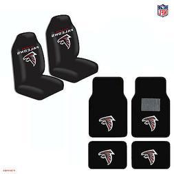 New NFL Atlanta Falcons Car Truck  Seat Covers & Carpet Floo